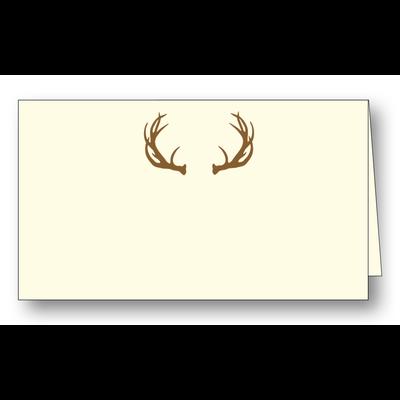 Maison de Papier Antlers Placecard