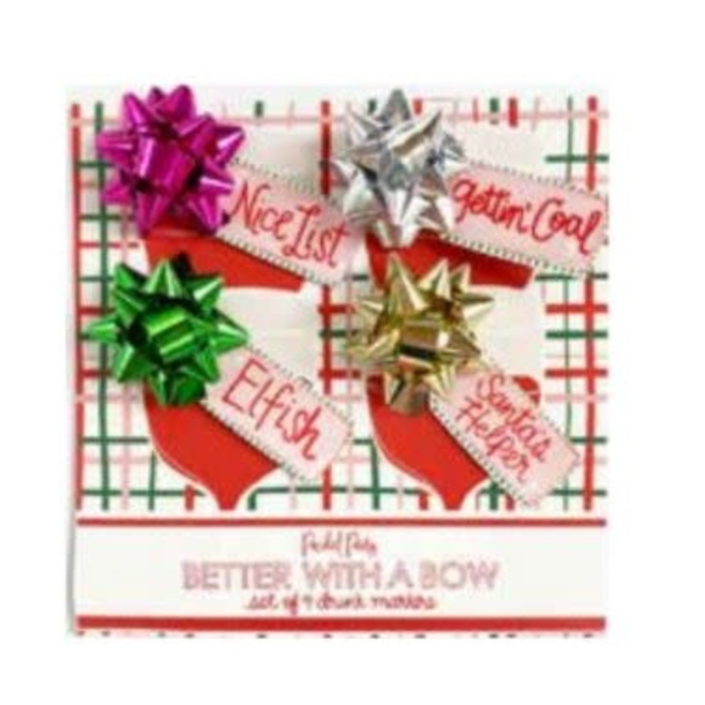 Packed Party Gift Bow Drink Marker
