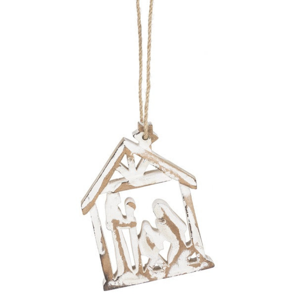 Ganz Cut-out Nativity Scene Ornament