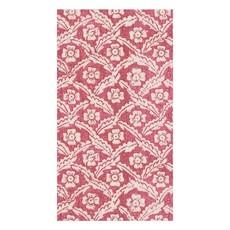 Caspari Domino Paper Floral Cross