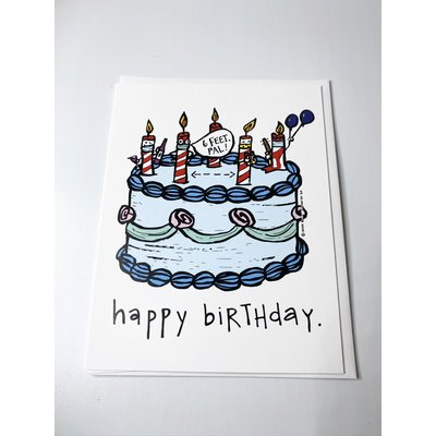 Sassy Banana Happy Birthday- 6ft Pal card
