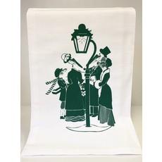 Monique Perry Carolers Tea Towel