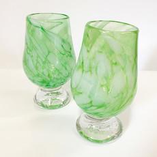 Ridge Walker Glass Footed Glass