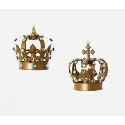 One Hundred 80 Degrees Crown Ornament