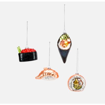 One Hundred 80 Degrees Sushi Ornament