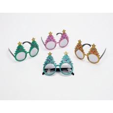 One Hundred 80 Degrees Christmas Glasses