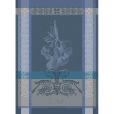 Garnier Thiebaut AIL ARDOISE Kitchen Towel 22''''x30'''', 56cmx77cm, 100% Cotton''