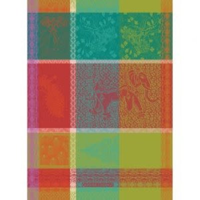 Garnier Thiebaut MILLE HOLI FESTIVAL Kitchen Towel 22''''x30'''', 56cmx77cm, 100% Cotton''
