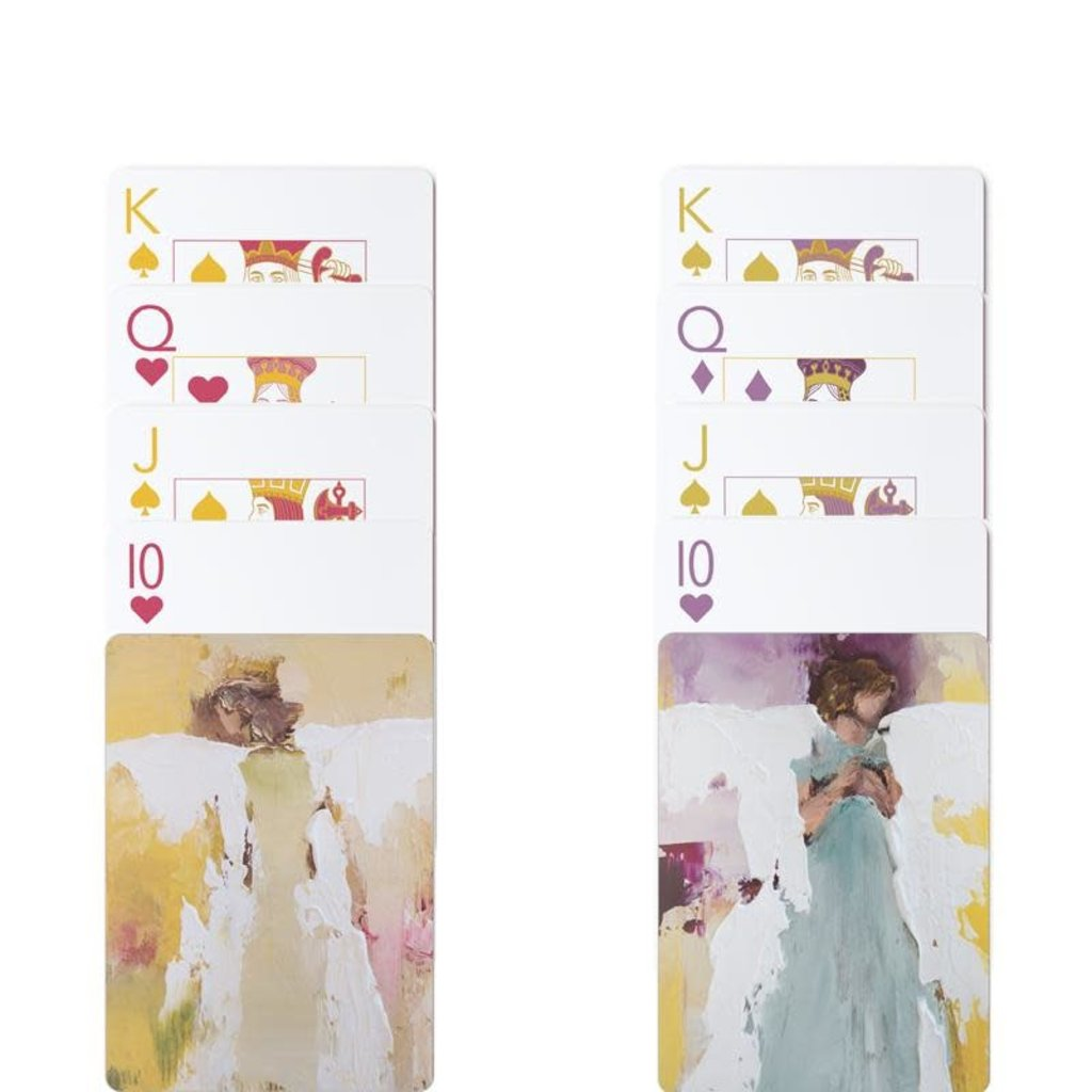 Anne Neilson Home Anne Neilson- Angel Series Playing Cards