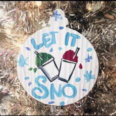 Art By Allie Let it Snow Ornament