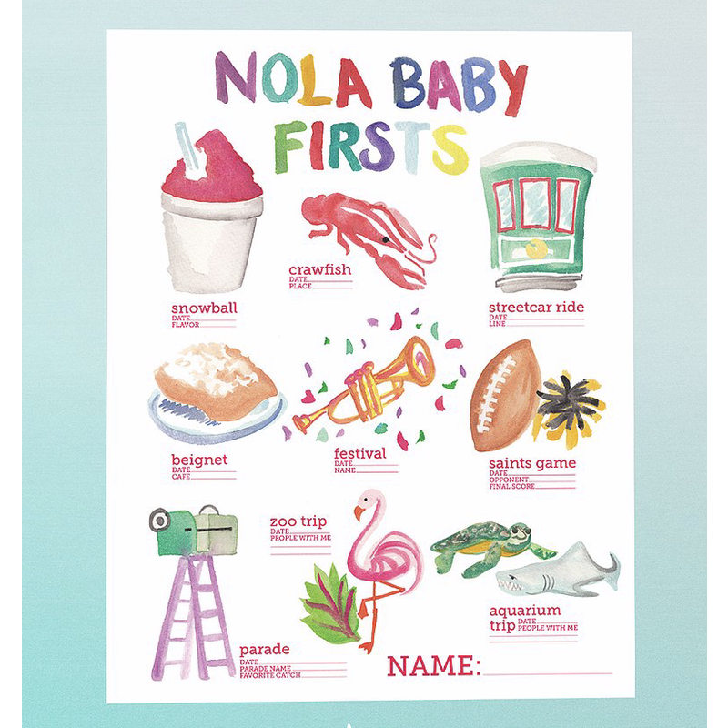 Art By Allie Nola Baby's First Posters