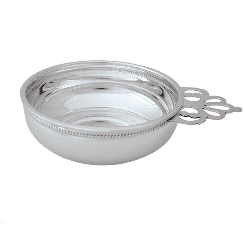 Salisbury Silver Porringer Beaded