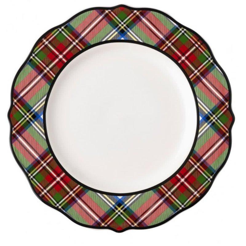 Juliska Stewart Tartan Salad Plate