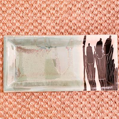 Rachael DePauw Medium Reed Rectangle Platter