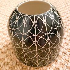 Rachael DePauw Black/White Vase