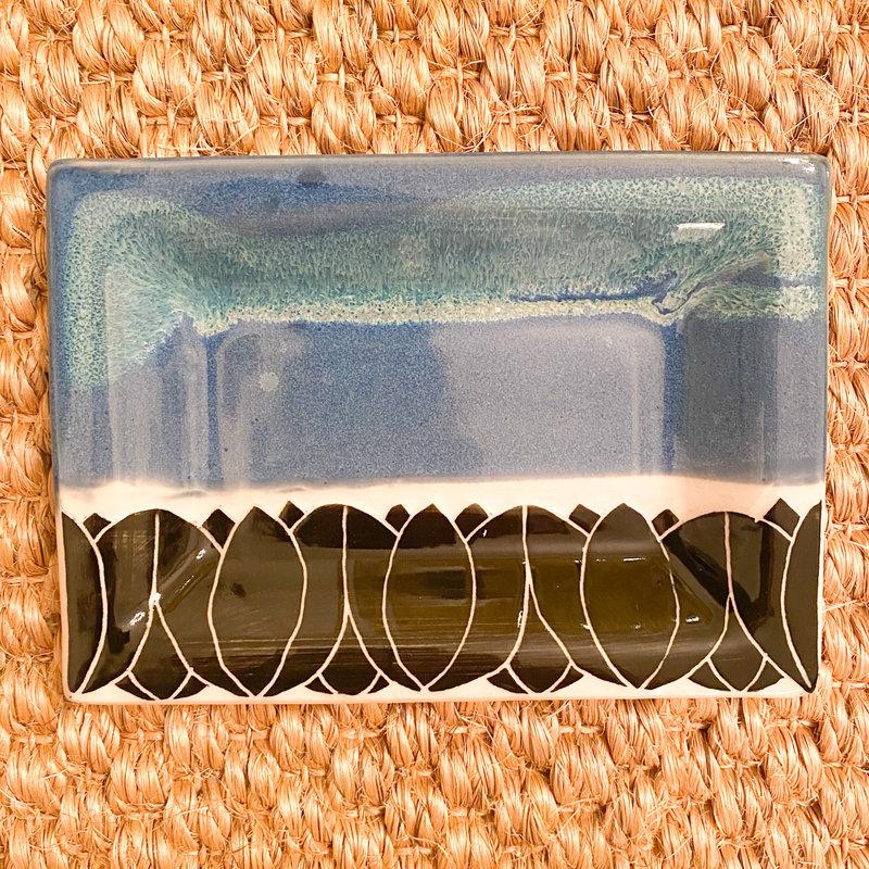 Rachael DePauw Small Rectangle Leaf Platter
