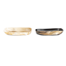 Ngala Trading COW HORN BOWL - RECTANGLE