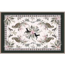 Ngala Trading Leopard Lily Safari Stone Table Cloth