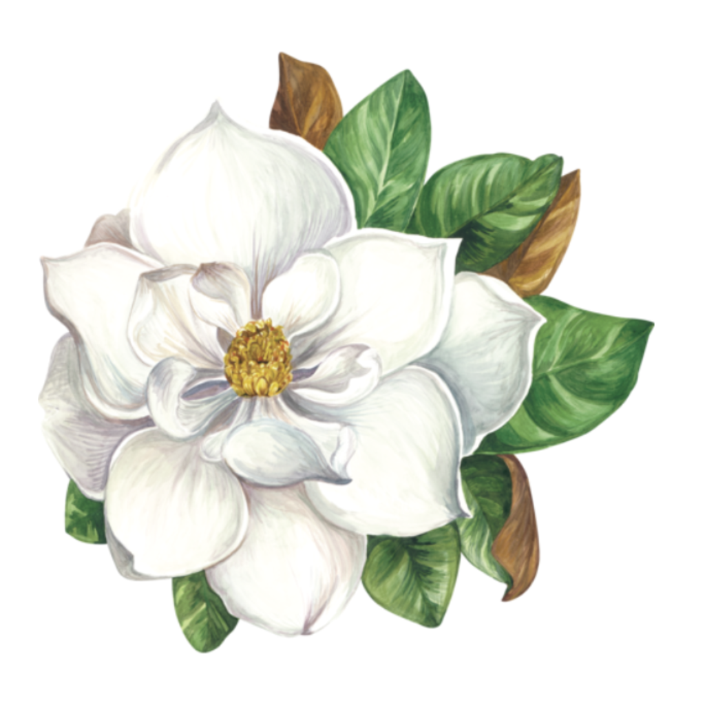 Hester and Cook Die Cut Magnolia Placemat