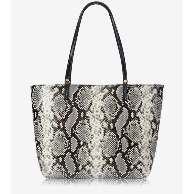 GiGi Handbags Tori Tote Natural Python Natural Printed