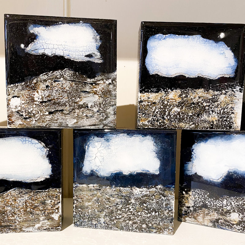 Cynthia Kolls Consignment Silver Lining Thunder Clouds