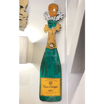 Cynthia Kolls Consignment Veuve Clicquot Bottle with Cork