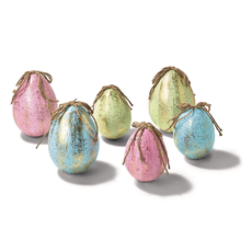 Two's Company Egg Ornament Medium 1