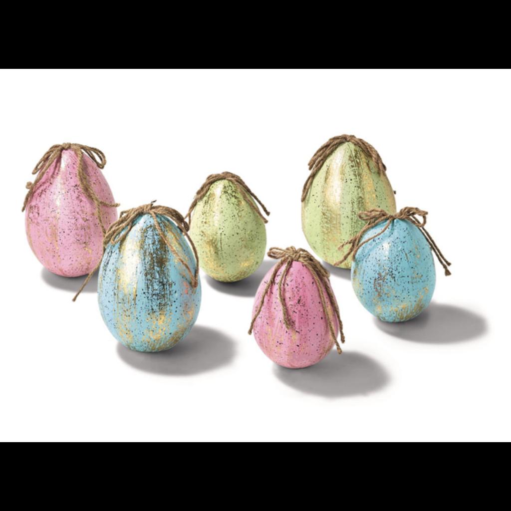 Two's Company Egg Ornament Medium 2