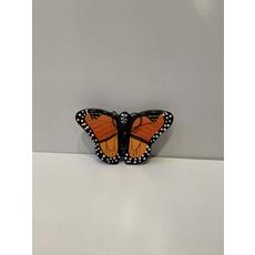 Women of the Cloud Forest Monarch Butterfly Balsa Ornament