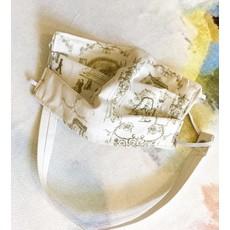 Jennifer Grehan Mardi Gras Toile Mask