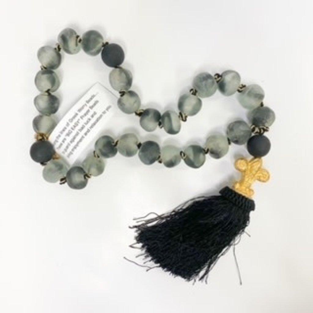 Ann Lee Sarpy Ann Lee Sarpy Large Black Beads