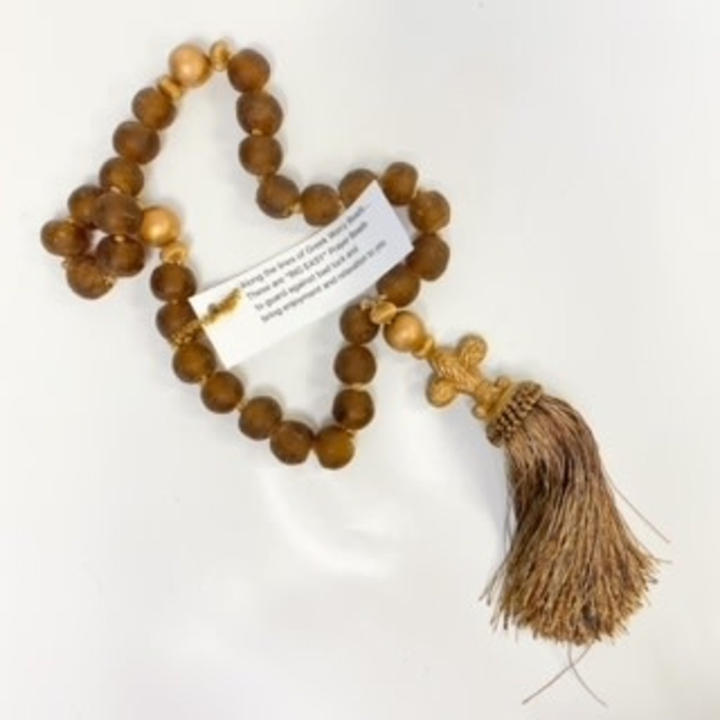 Ann Lee Sarpy Ann Lee Sarpy Medium Brown Beads