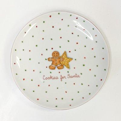 Ann Marie Murray Cookies for Santa Plate