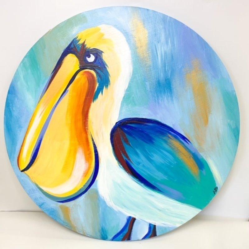 Art By Allie Pelican Doorhanger