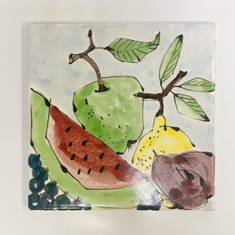 Steve Hasslock Steve Hasslock 6x6 Fruits Tile