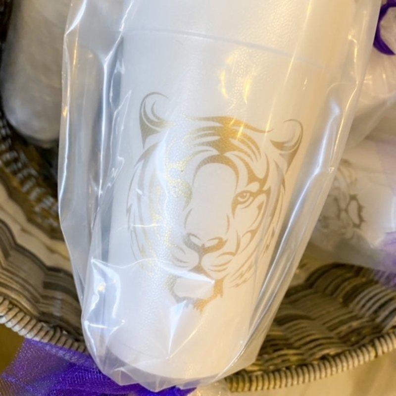 Elle Paperie Tiger Face Foam Cup