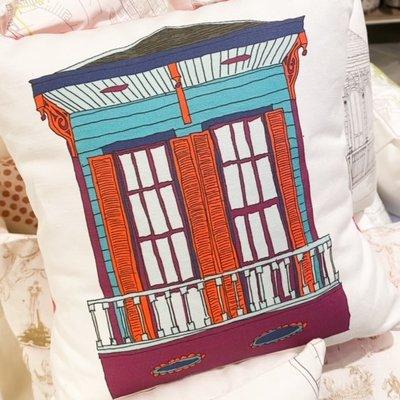 Ellen Macomber Ellen Macomber CSMT 12 x 12 LA House Pillow