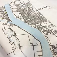Ellen Macomber Ellen Macomber Map Throw