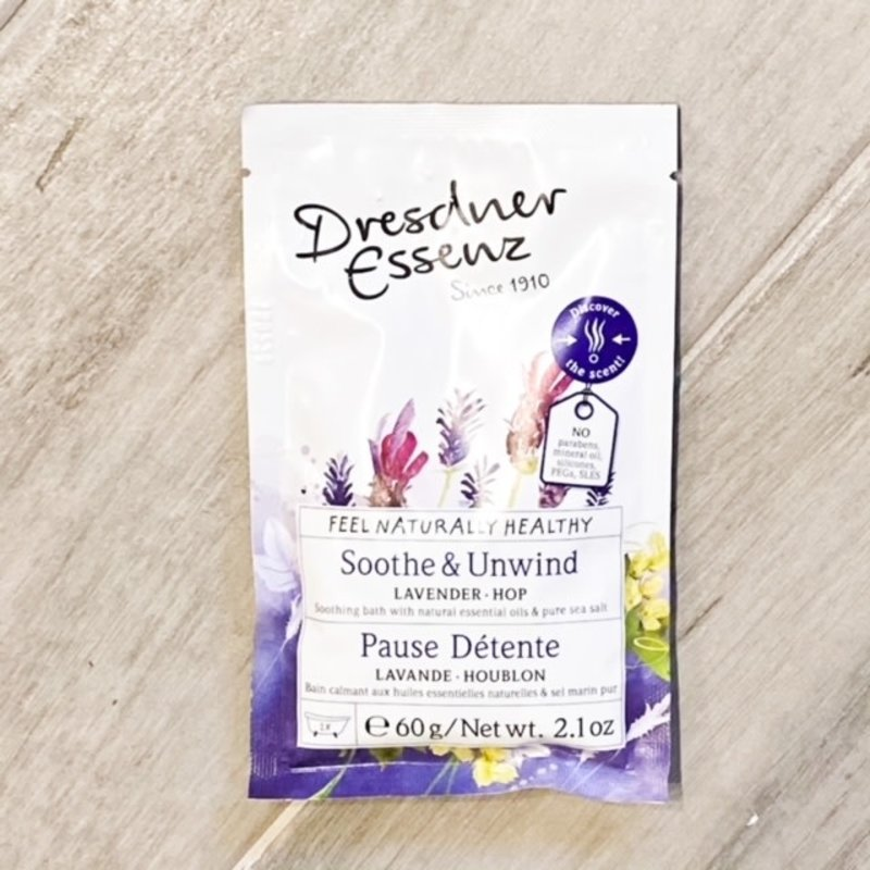 European Soaps Dresdner Lavender Bath Packet