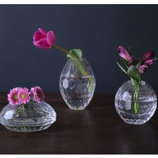 Beatriz Ball Faceted Bud Vase