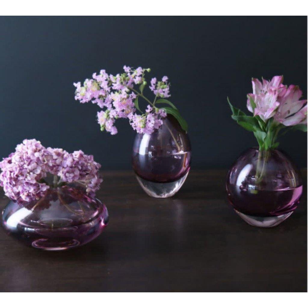 Beatriz Ball Glass Smooth Round Bud Vase