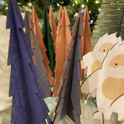 Pete's Papercraft Pete's Papercraft Wood Trees