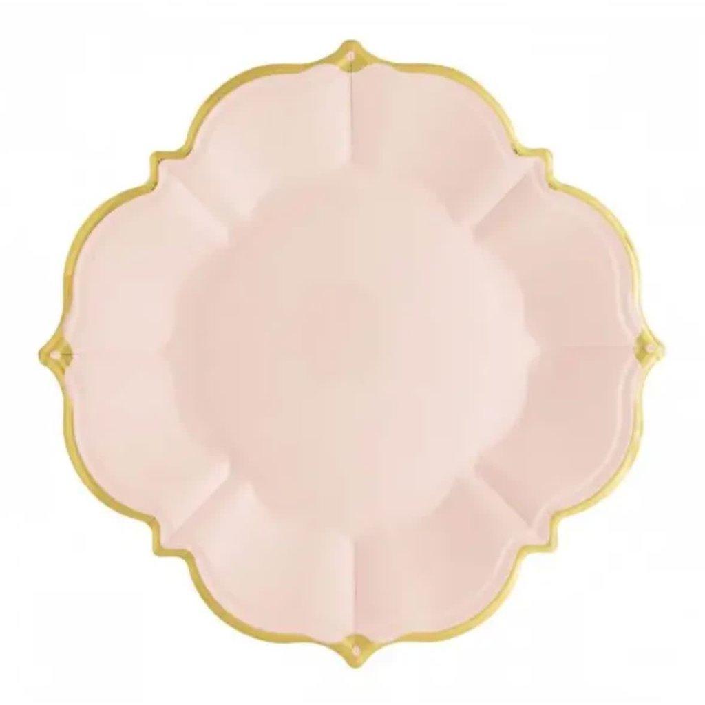 Eid Creations Blush Lunch Plates