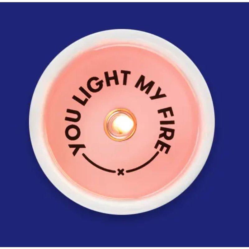 54 Celsius You Light My Fire Secret Message Candle