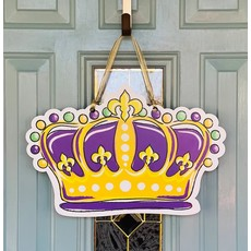 Art By Allie Crown Doorhanger