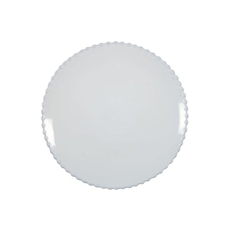 Casafina Dinner Plate Pearl White