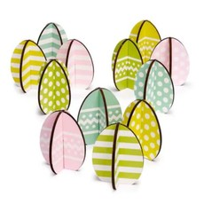 Design Ideas EASTERLY DECORATIONS- EGG SET-12