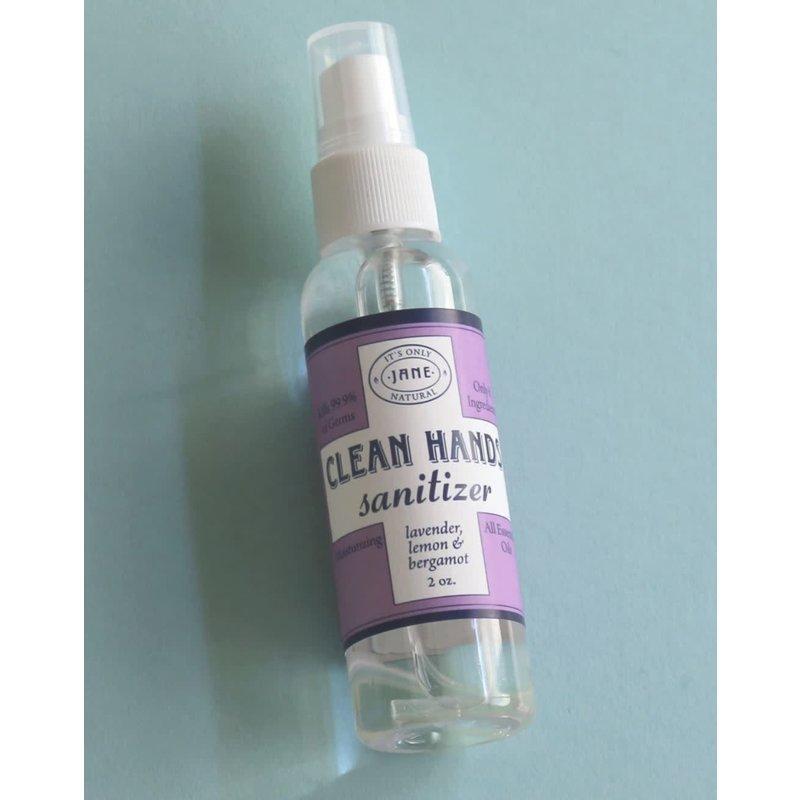 Jane Inc. Clean Hands Sanitizer Spray - Lavender, Lemon & Bergamot