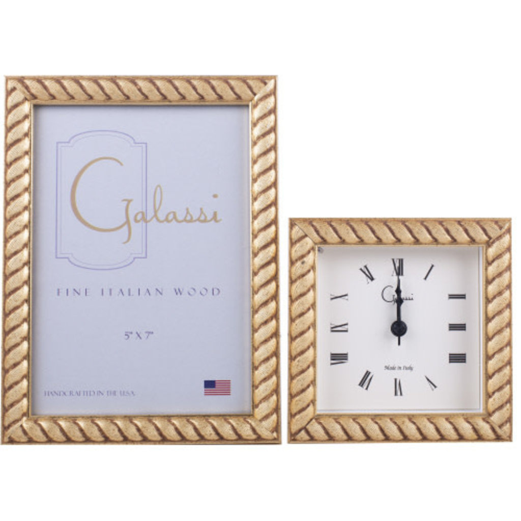 Galassi Gold Braid 5x7 Frame