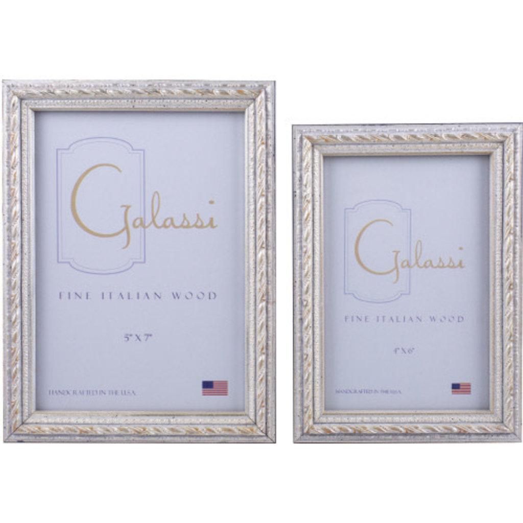 Galassi Silver Filigree 5x7 Frame